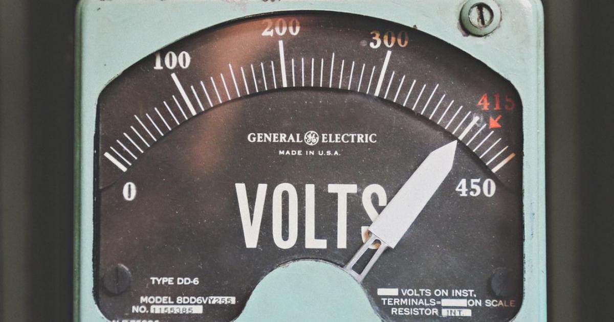 Skötsel av elektriska anläggningar